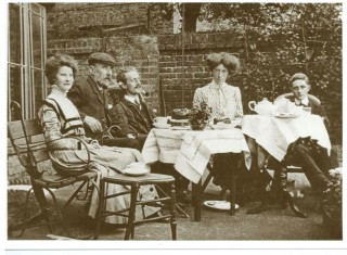 John Hayden (right) with his family | Family Collection