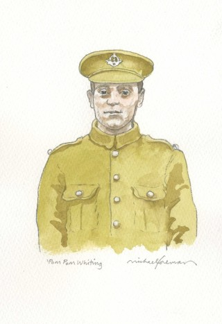 Michael Foreman illustration of Robert Whiting | City of Westminster Archives