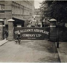 The Alliance Aeroplane Company Ltd, Cambridge Grove, Hammersmith.  | Hammersmith and Fulham Archives