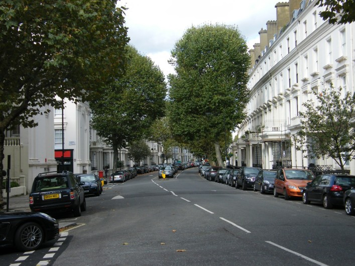 Warrington Crescent from Warwick Avenue, 2014   Ronan Thomas WCRES1