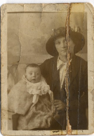 Florence Brill and her Son Jim