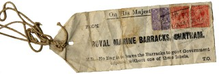 The parcel string that Florence carried with her for the rest of her life.