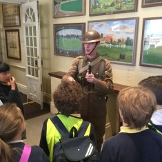 The Children talk  to a WW1 soldier about life in the trenches | Westminster Archives