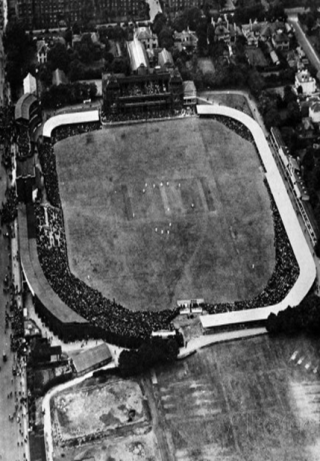 Lord's cricket ground in 1921 | Westminster Archives