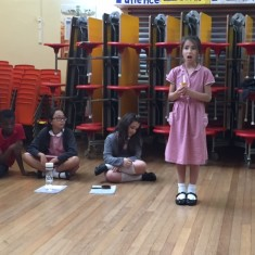 The character of Annie rehearses 'Keep the Home Fires Burning' | Holly Robjohns