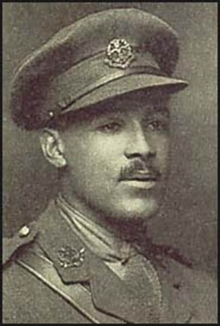 Walter Tull in his 2nd Lieutenant's uniform | Phil Vasili/Finlayson Family Collection