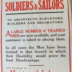 World War One Posters | Kensington and Chelsea Local Studies