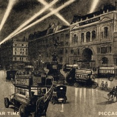 London In War Time, Piccadilly Circus, 1918 | City of Westminster Archives