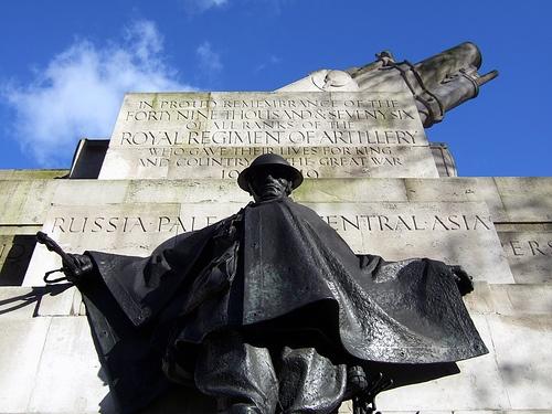 The Royal Artillery Memorial in Hyde Park