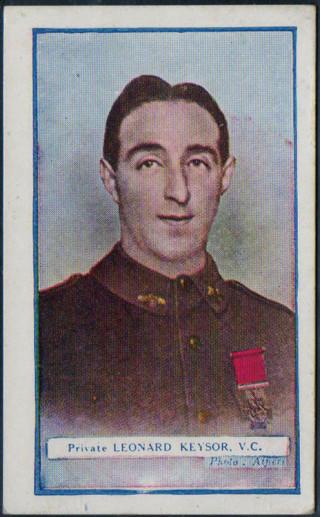 Leonard Keysor won a Victoira Cross at Gallipoli as part of the 1st Australian InfantryDivision | Peter Daniel