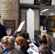 schools WW1 Outreach sessions