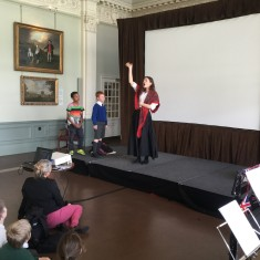 Lord's Long Room - Performance of 'A Candle for Booth'   Westminster Archives