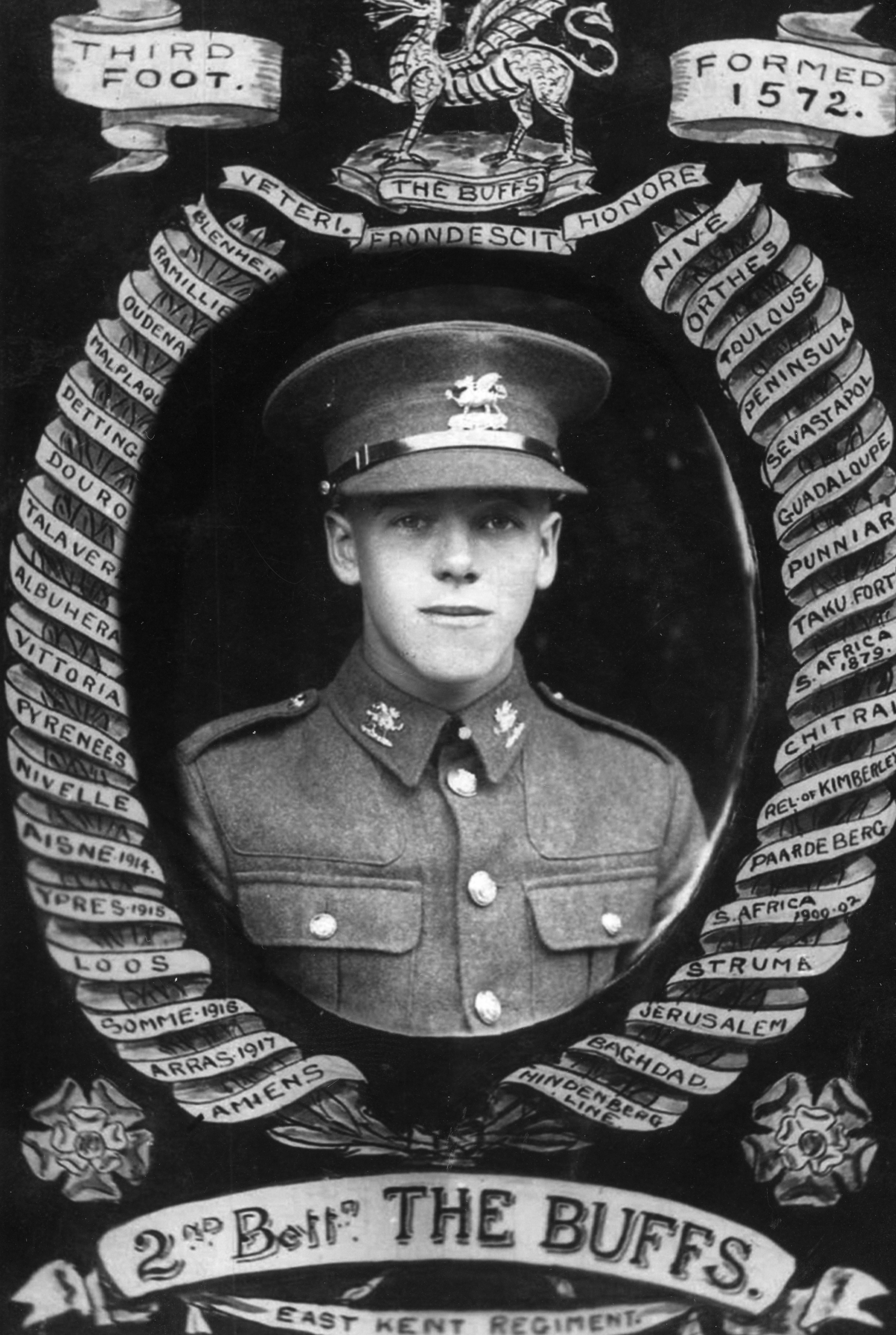 Pte Richard Seaby of the Leicstershire regiment was killed on the night of December 3/4th 1917